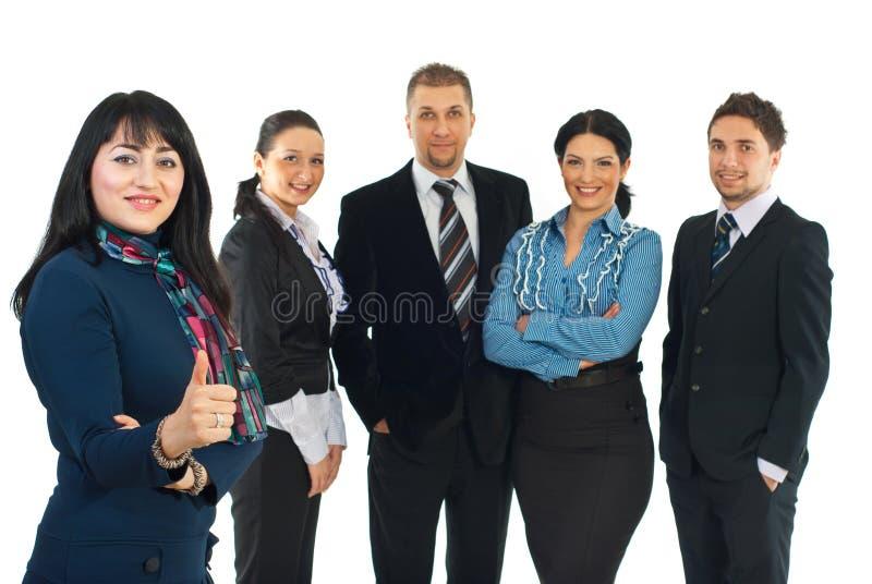 Unidade de negócio bem sucedida fotos de stock