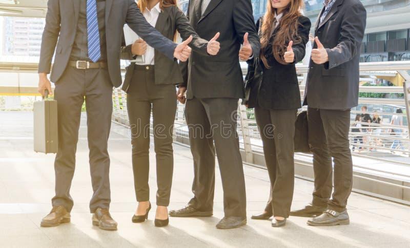 Unidade de negócio bem sucedida imagem de stock