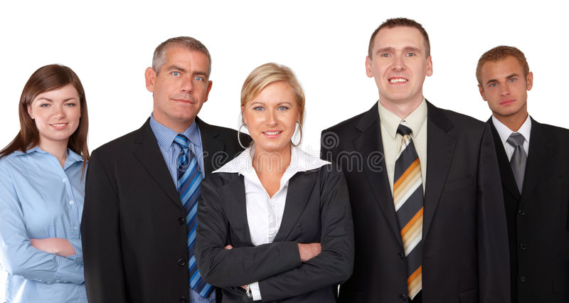Unidade de negócio bem sucedida fotografia de stock