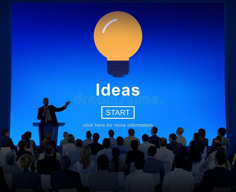 Unidade de negócio multi-étnico Job Search Seminar Conference Concept fotografia de stock royalty free