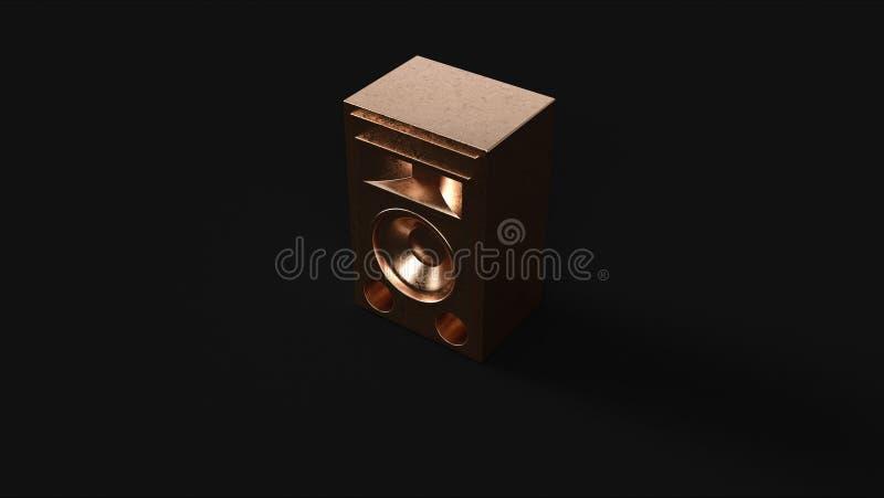 Unidade de orador de bronze ilustração royalty free