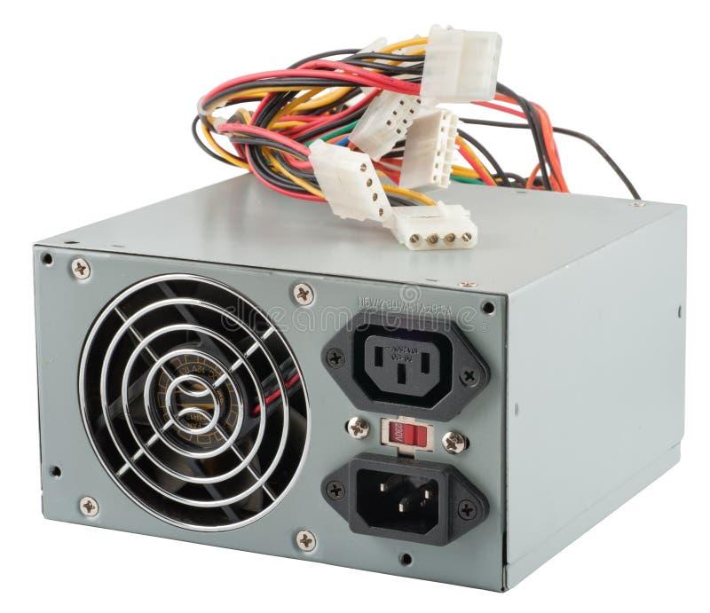 A unidade de potência de computador foto de stock