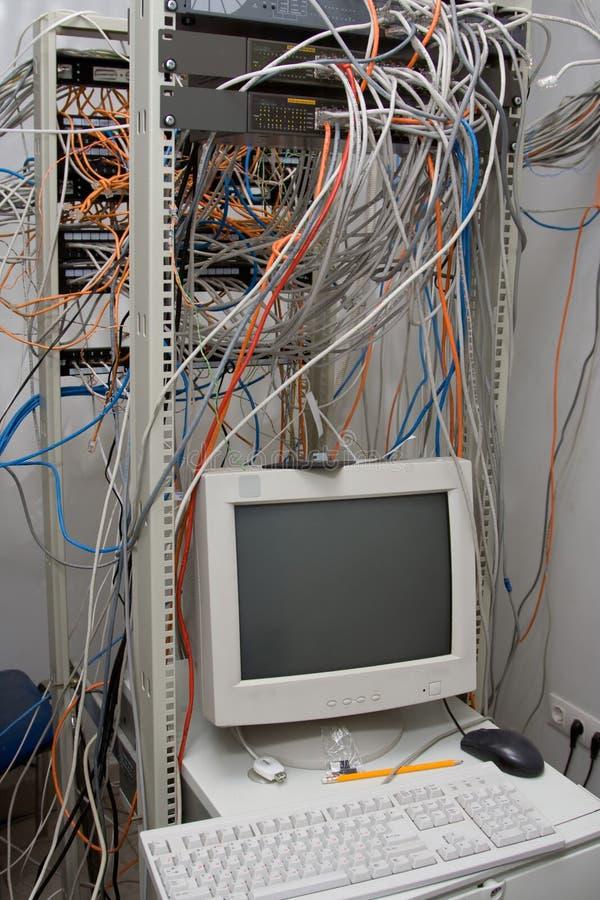 Unidade de uma comunicação, server foto de stock royalty free