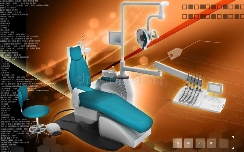 Unidade dental ilustração royalty free