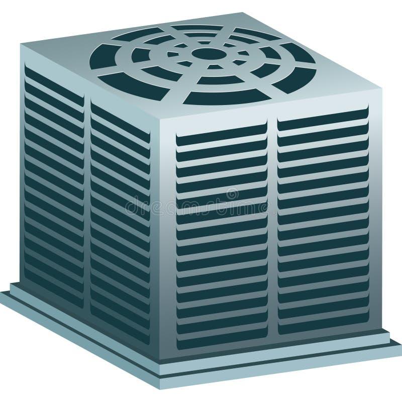 Unidade do condicionador de ar ilustração royalty free