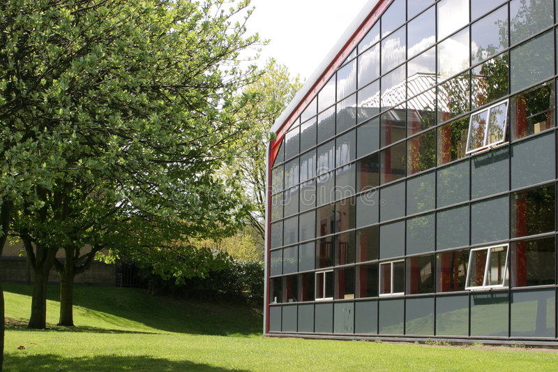 Unidade do edifício industrial fotos de stock