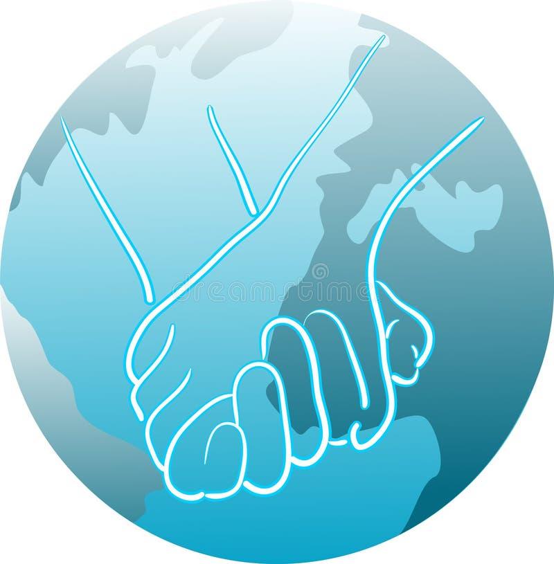 Unidade global ilustração stock