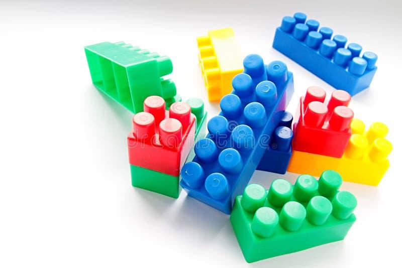 Unidades de creación del juguete en la tabla fotografía de archivo