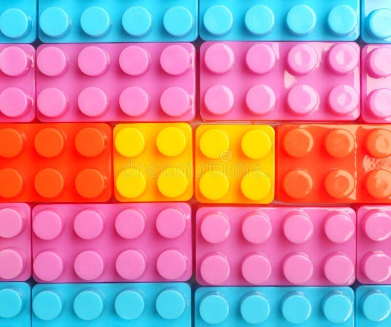 Unidades de creación plásticas del juguete fotografía de archivo libre de regalías