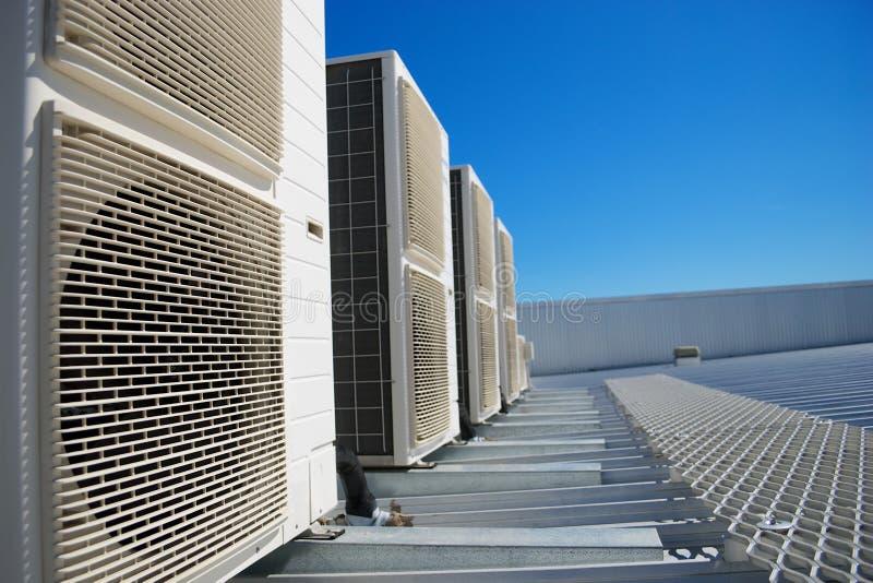 Unidades del acondicionador de aire foto de archivo libre de regalías
