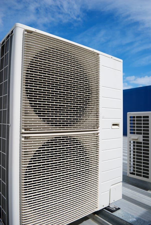 Unidades del acondicionador de aire foto de archivo