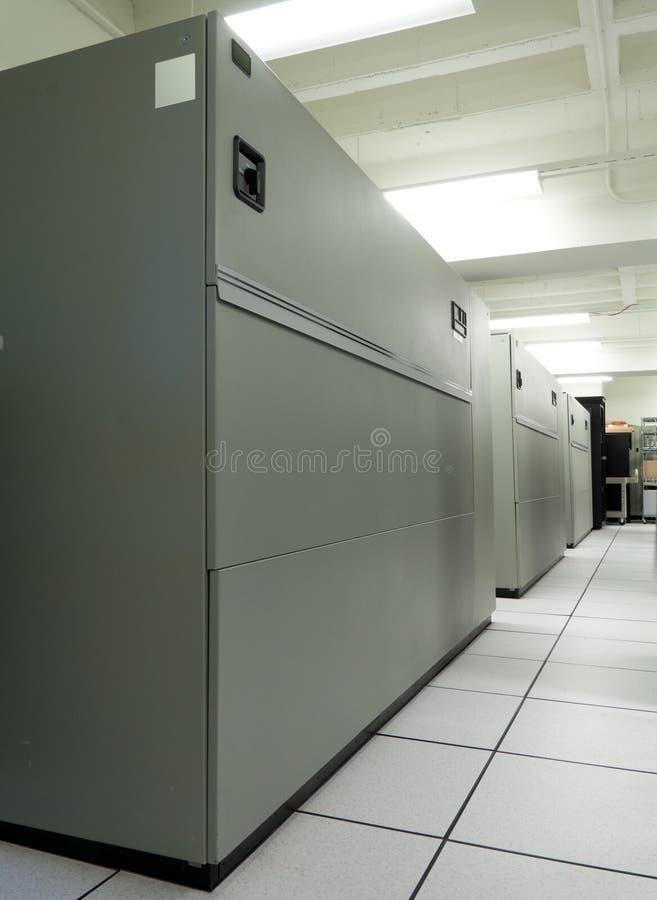 Unidades do condicionamento de ar do quarto de computador (CRAC) fotografia de stock