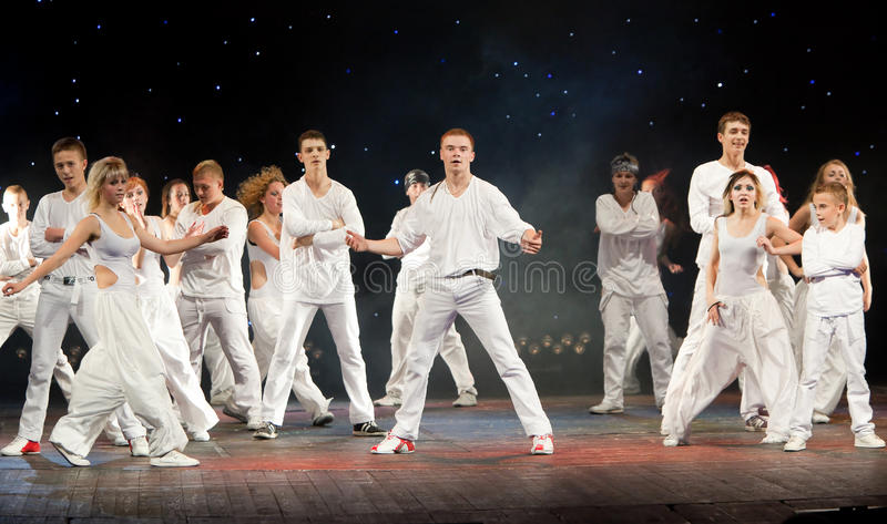 Download Unidentified Children From Dancing Group Belka Editorial Stock Image - Image: 23888414