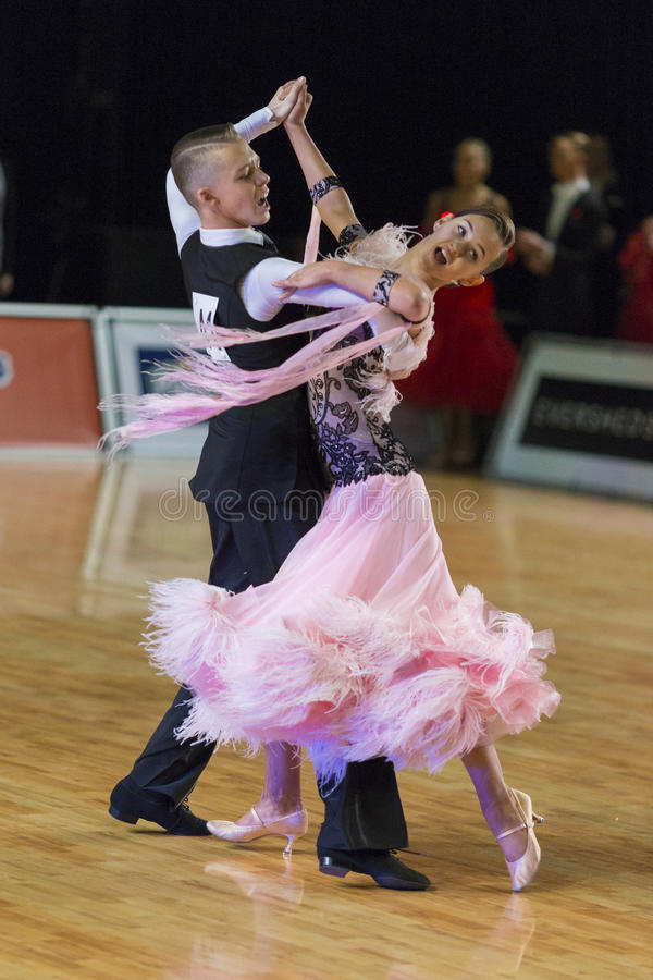 Download Unidentified Dance Couple Performs Juvenile-1 Standard European Program On The WDSF Baltic Grand Prix-2106 Editorial Image - Image: 83713805