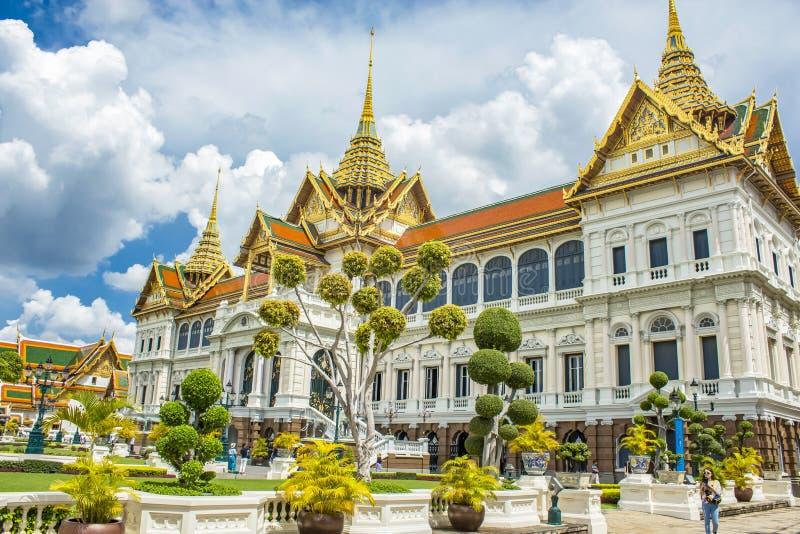 Grand Palace in Bangkok stock photo