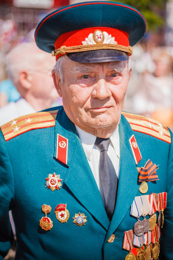 Download Unidentified Veterans During The Celebration Of Victory Day. GOM Editorial Photography - Image of officer, belarus: 40363887