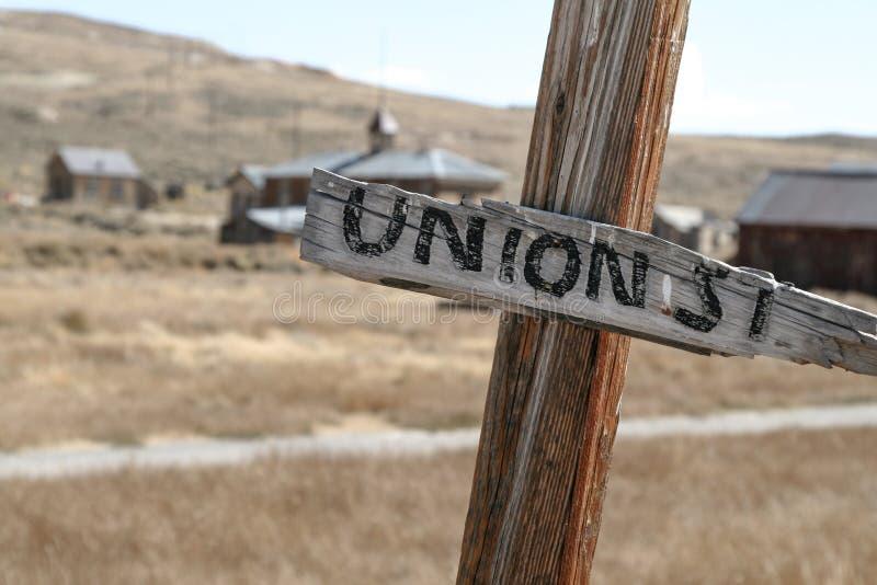 Unie Postteken stock afbeelding