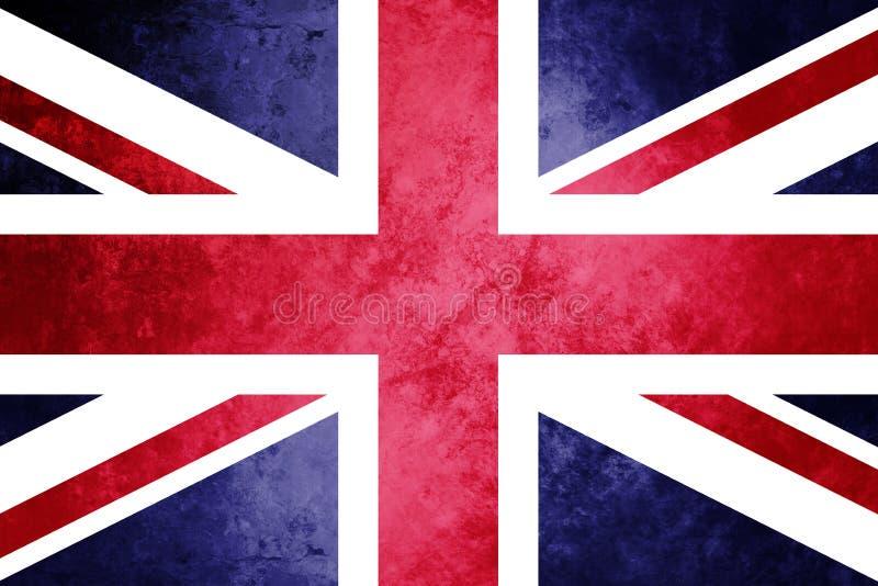Unie Vlag, Union Jack, Koninklijke Unie Vlag royalty-vrije illustratie