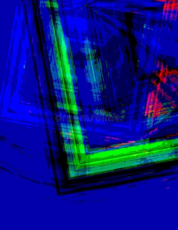 Uniek frame vector illustratie