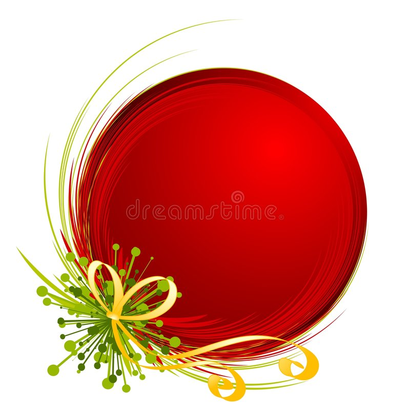 Uniek Ornament 2 van Kerstmis royalty-vrije illustratie