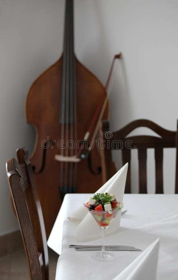Uniek restaurant stock afbeeldingen