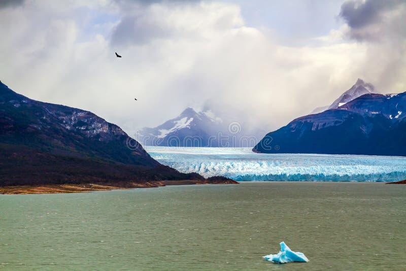 Unieke gletsjer Perito Moreno stock afbeelding