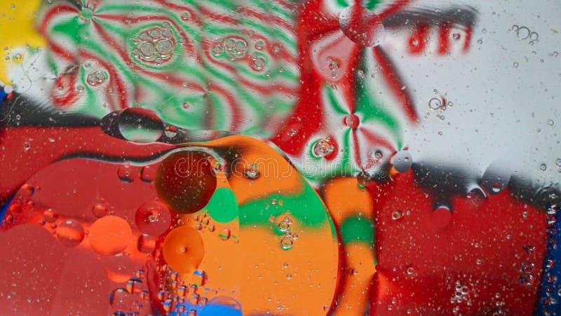 Unieke kleurrijke abstracte achtergrond royalty-vrije stock foto