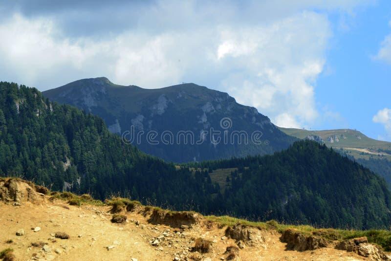 Unieke meningen over Bucegi-Bergen 2 stock fotografie