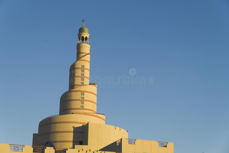 Unieke Moskee stock afbeelding