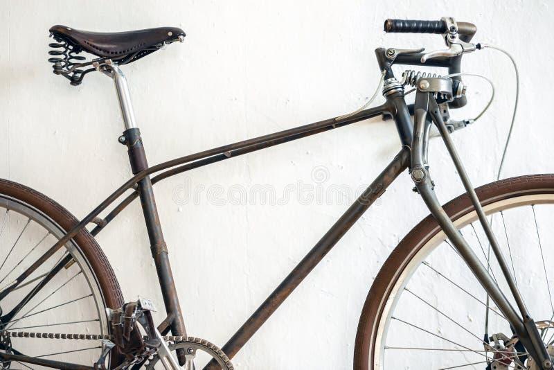 Unieke naar maat gemaakte fiets royalty-vrije stock afbeelding