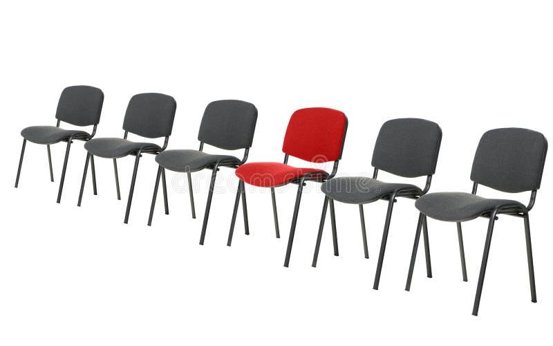 Unieke rode stoel royalty-vrije stock foto