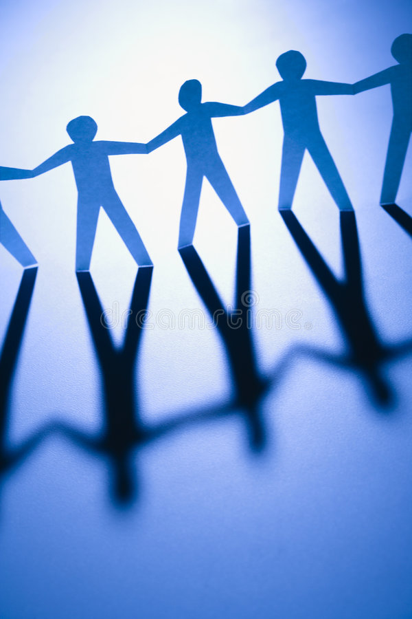 Download Unified people stock photo. Image of relationship, cutout - 4413360