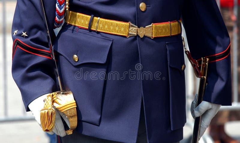 Uniform lizenzfreie stockfotos