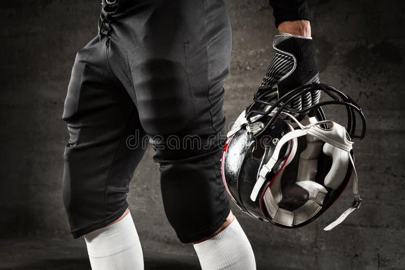 Uniform des amerikanischen Fußballs lizenzfreie stockbilder