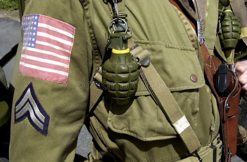 uniforme ameircan de Joe de gi photographie stock