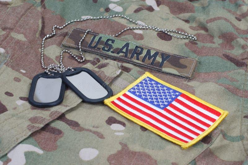 Uniforme camuflado exército dos EUA foto de stock