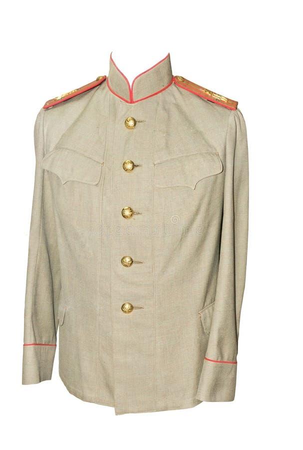 Uniforme de cérémonie militaire image stock