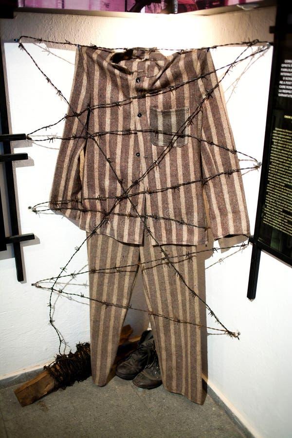 Uniforme del preso foto de archivo