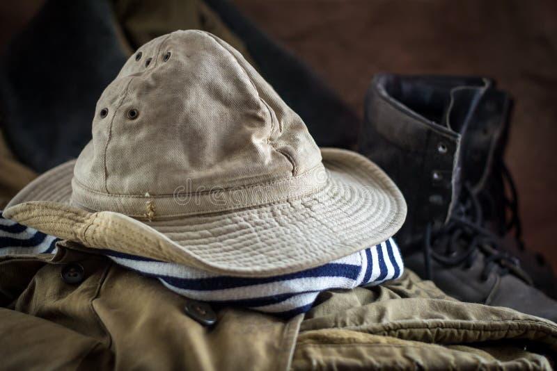 Uniforme di un soldato sovietico fotografie stock libere da diritti