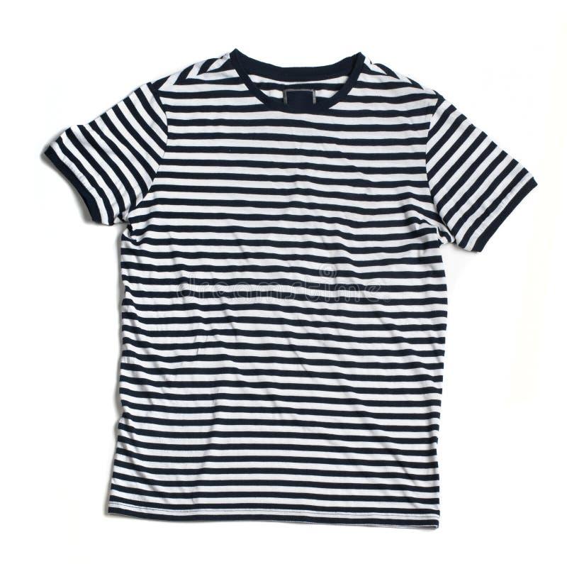 Uniforme do árbitro - camisa de T imagens de stock