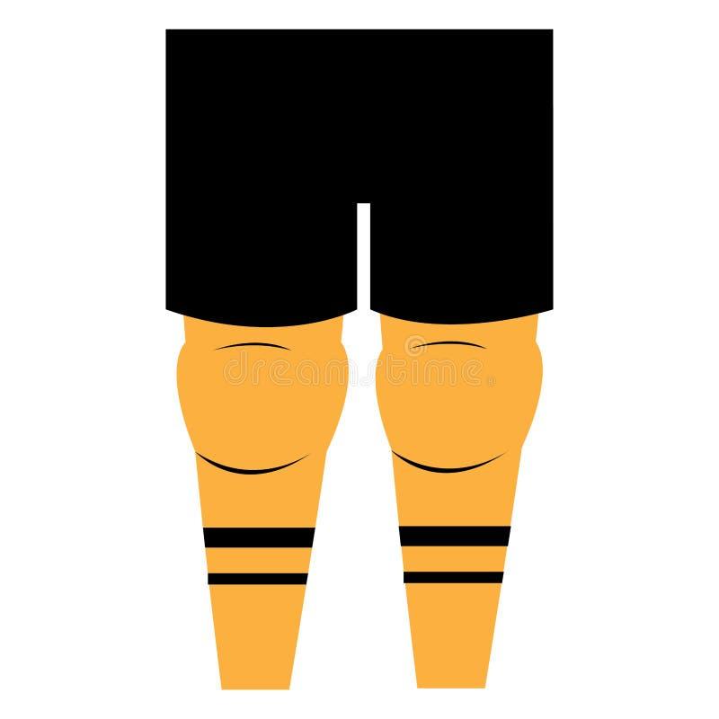 Download Uniforme do esporte ilustração do vetor. Ilustração de front - 107527960