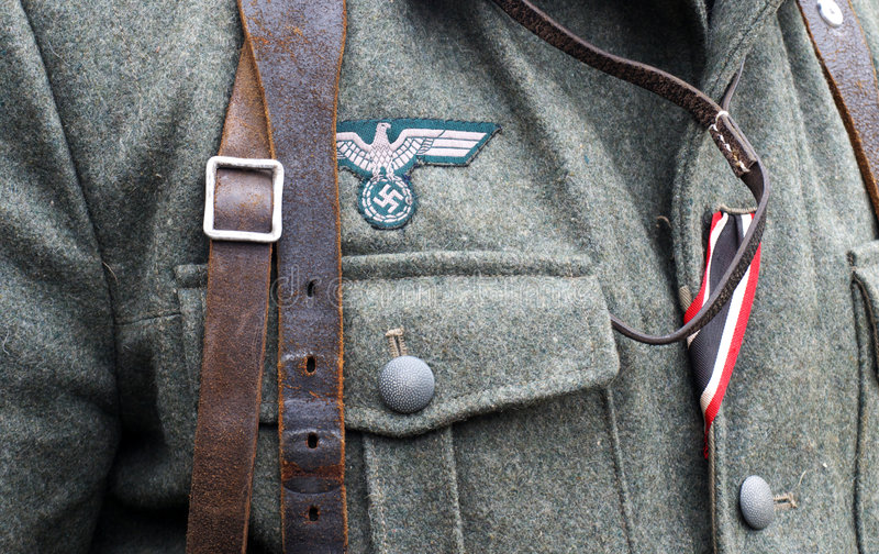 Uniforme fasciste image stock