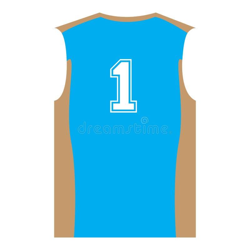Download Uniforme Isolado Do Esporte Ilustração do Vetor - Ilustração de sleeveless, menino: 107527821