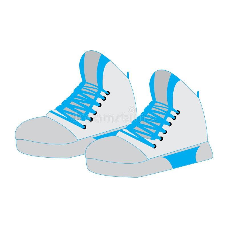 Download Uniforme Isolado Do Esporte Ilustração do Vetor - Ilustração de calçados, exercício: 107527930