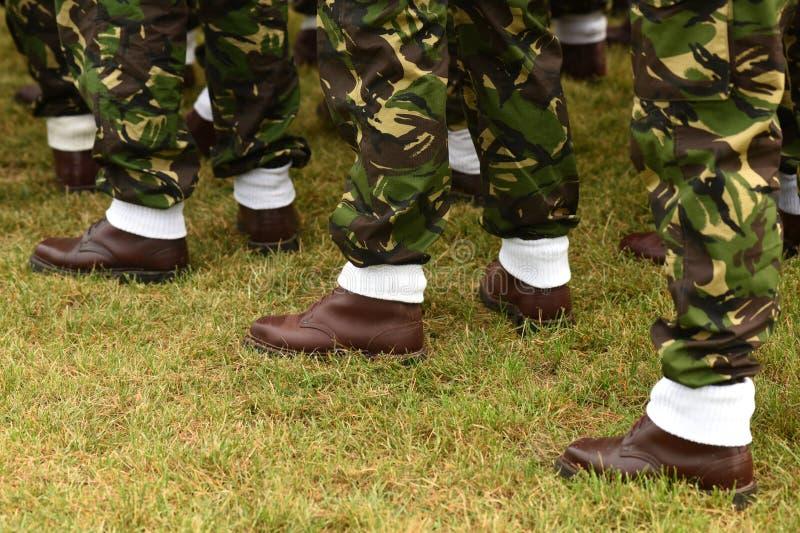 Uniforme militar de Romênia Tropas romenas imagem de stock royalty free