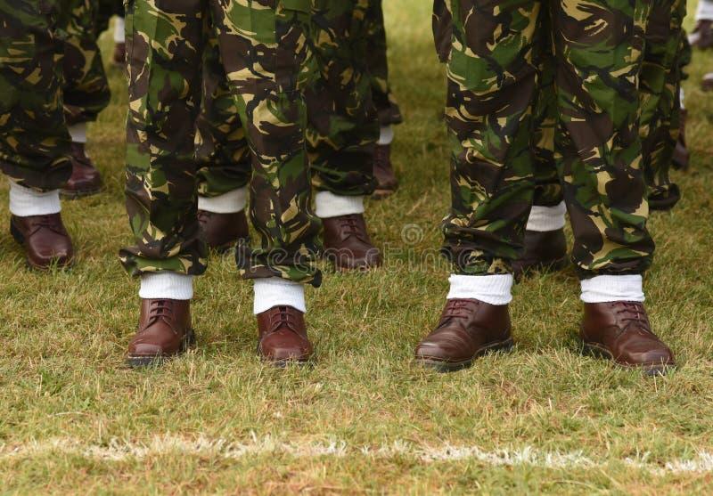 Uniforme militar de Romênia Tropas romenas imagens de stock