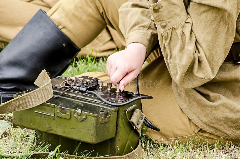 Uniforme militare immagini stock libere da diritti