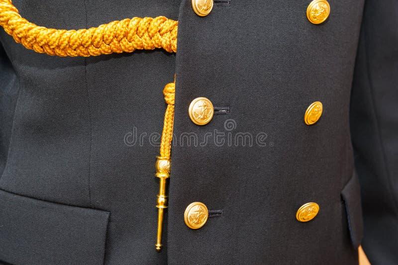 Uniforme polonais de marine photographie stock