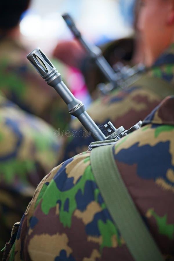 Uniforme suizo del ejército imágenes de archivo libres de regalías
