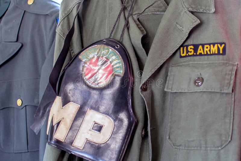 Uniformes militares del vintage para los E.E.U.U. fotos de archivo